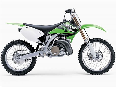 motocross biking kawasaki 250cc dirt bike