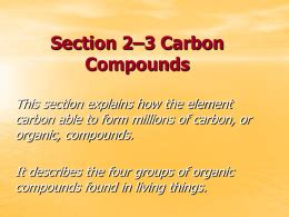 section 2 3 carbon compounds pages 44 48 answers section 2 3 carbon compounds pages 44 48