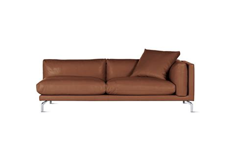 1sale como one arm sofa in leather right designed by