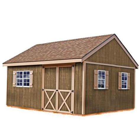 12 X 12 Shed Home Depot by Best Barns New Castle 16 Ft X 12 Ft Wood Storage Shed