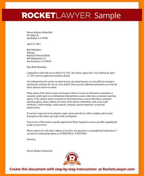 Sle Business Letter Denying Credit 7 Credit Letter Bid Template