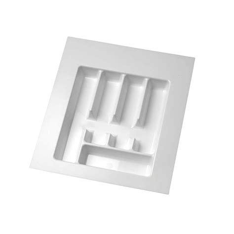 Cutlery Drawer Inserts Nz by Italio Cutlery Tray Insert 434 X 434mm White Bunnings