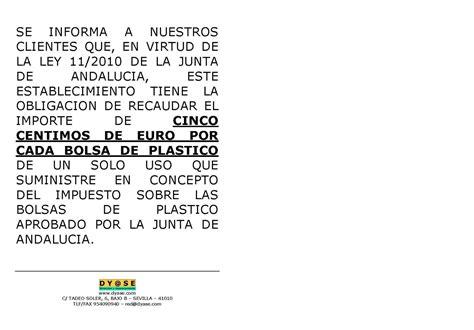 modelo de cartel informativo de la existencia de hojas de quejas y dyase 2011