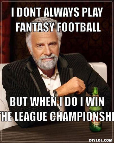 Fantasy Football Meme - fantasy football and office pool madness