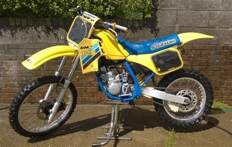 1986 Suzuki Rm 125 1986 Rm 125 Images Frompo