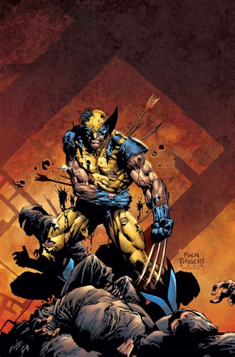 wolverine the end 1 wwtexas variant comic art
