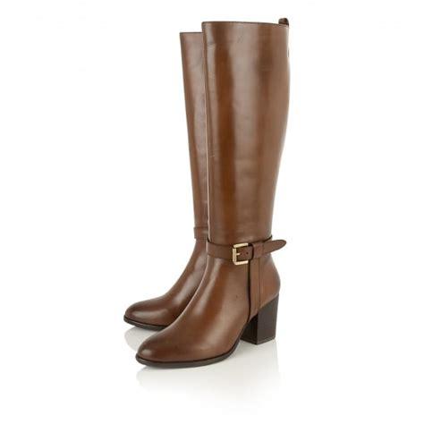 buy ravel waller knee high boots in cognac