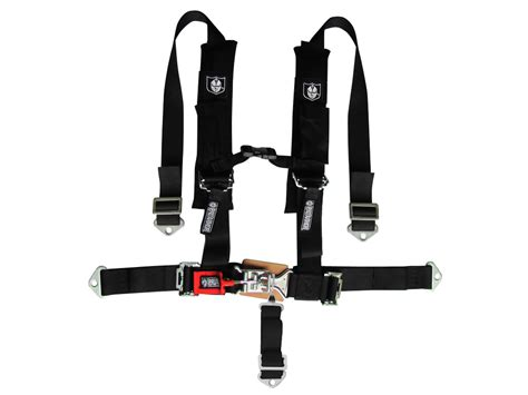pro armor quot h quot style 5 point harness 2 quot wide black
