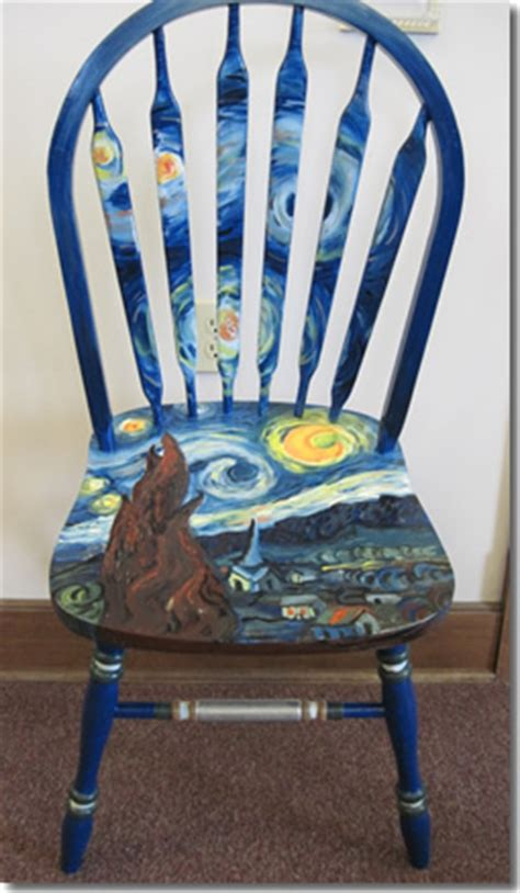 painted chairs images sit n style silent auction fundraiser library sparks