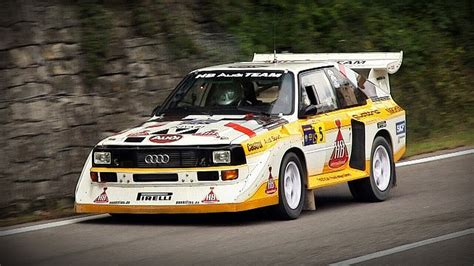 Audi Quattro S1 Group B by Audi Sport Quattro S1 Group B Sound Rally Legend 2013