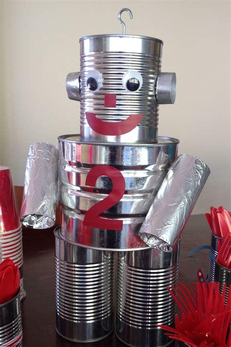 tin can robot roboter roboter raketen und - Tin Can Robot