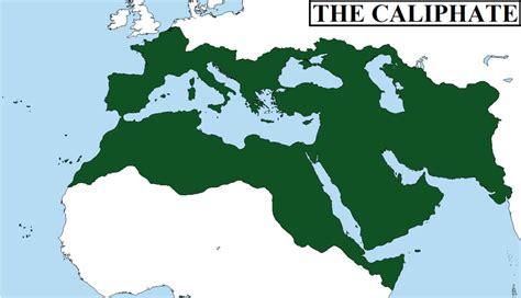 caliphate a form of islamic goverment led by a caliph vocab islamic civilization ch 3