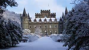 inveraray castle scotland wallpaper