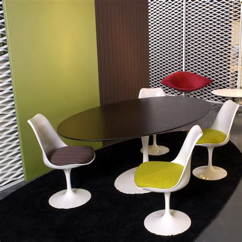 Saarinen Stuhl by Saarinen Tulip Stuhl Knoll Connox