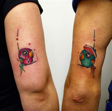 matching bird tattoos 32 best friend designs tattooblend