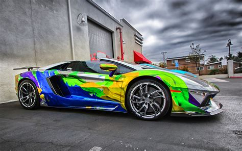 colorful cars colorful car wallpaper hd pictures