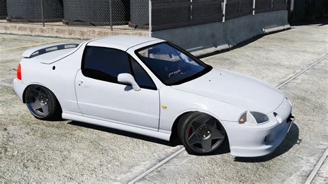 Honda Crx by Honda Crx Sol Gta5 Mods