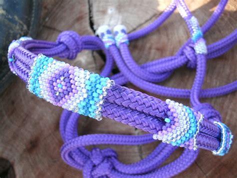 beaded rope halter items similar to beaded rope halter tack