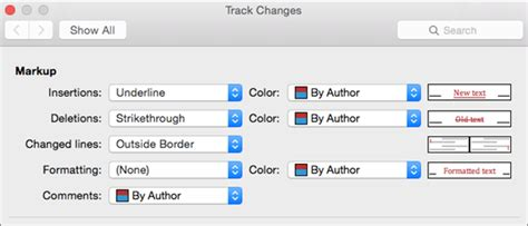 mac word layout changes advanced track changes options in word 2016 for mac word