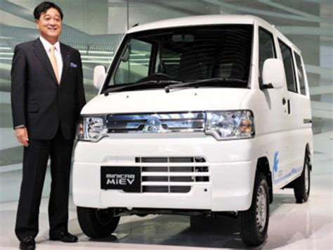 Mitsubishi I Miev For Sale In Pakistan by Minicab Miev Electric The Economic Times