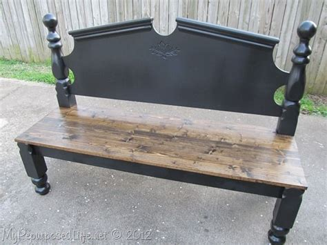 benches made out of headboards best 25 headboard benches ideas on pinterest benches