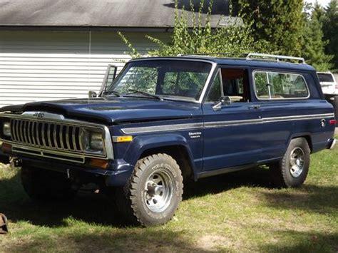 Jeep Sj Sell Used 1983 Jeep Sj 4x4 2 Door In Lyndon