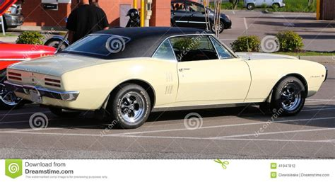 general motors pontiac division classic 1968 pontiac firebird editorial photography