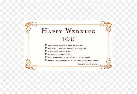 Wedding Registry Card Exles
