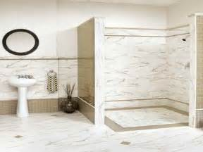 bathroom tile patterns shower with white marble design bathroom tile design ideas
