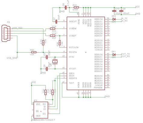 series resistor data line usb ft2232d device not responding to set address electrical engineering stack exchange