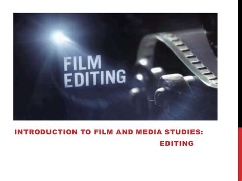 documentary editing principles practice books introduction to and media studies editing basics