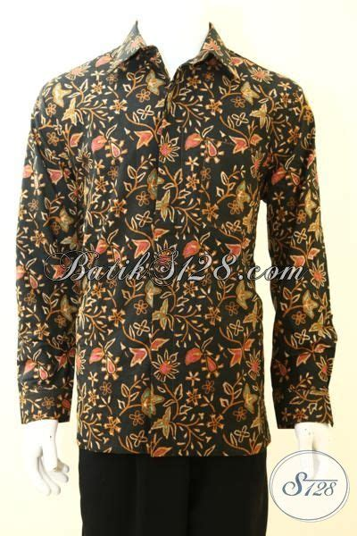 Baju Lengan Panjang Anak Muda sedia hem batik kombinasi tulis lengan panjang baju batik furing buatan pakaian