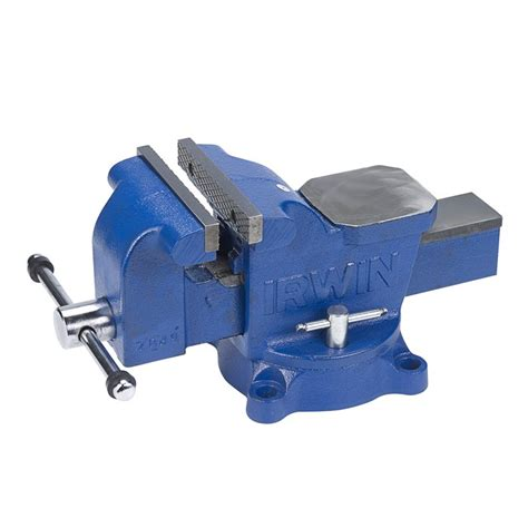 heavy duty combination bench vise