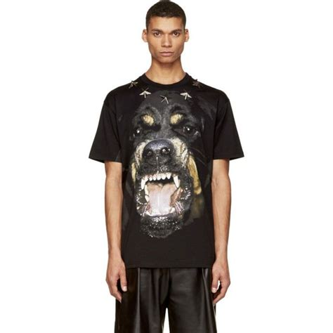 rottweiler t shirts givenchy black rottweiler print studded t shirt iquero mens
