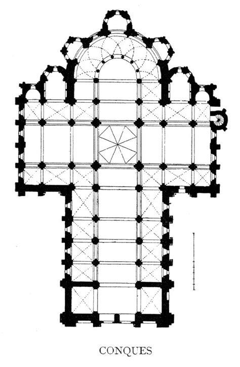 romanesque church floor plan plans roman to gothic on pinterest romanesque pompeii