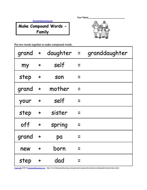 compound words worksheet search results calendar 2015