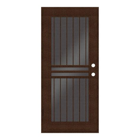 home depot security doors unique home designs 36 in x 80 in plain bar copperclad