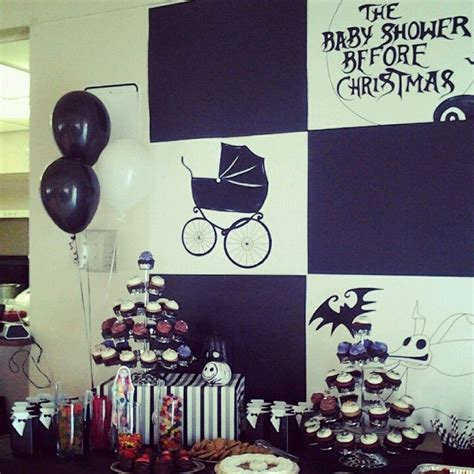 a nightmare before christmas baby shower baby showers