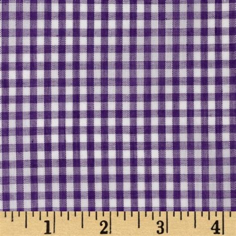 purple gingham curtains wide width 1 8 gingham check purple discount designer