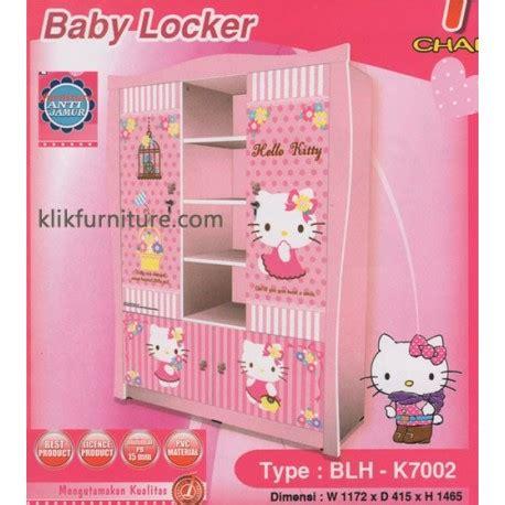Lemari Kayu Hello Kity lemari anak hello blh k7002 kea panel harga termurah