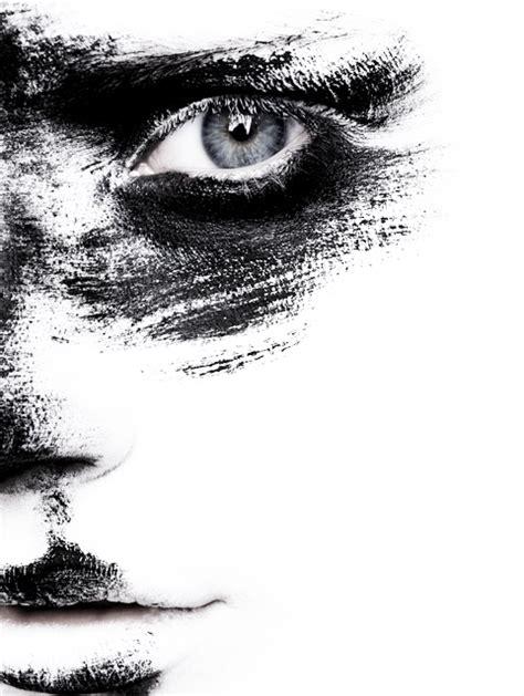 tube png trouve sur le net visage femme brush noir