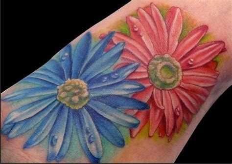 september tattoos designs aster flower september birth flower would like