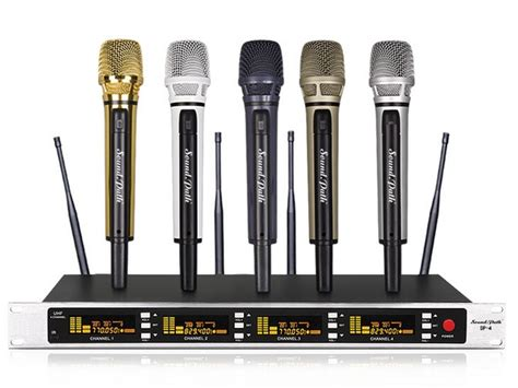 popular 8 channel wireless microphone system buy cheap 8