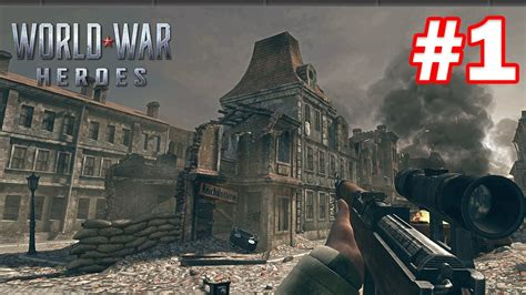 world war heroes android gameplay  youtube