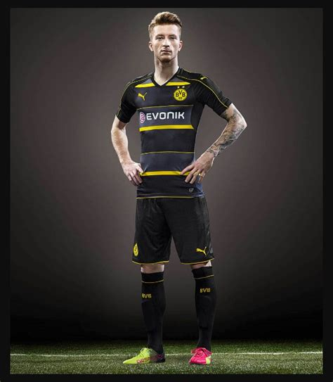 Jersey Dortmund Away borussia dortmund jersey 2017 2018 home away and third