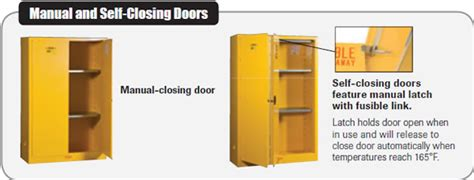 self closing flammable cabinet safety flammable cabinets flammable cabinets safety