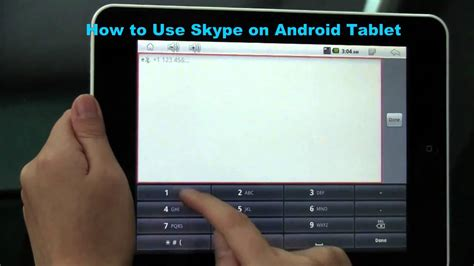 skype for android tablet skype on android tablet