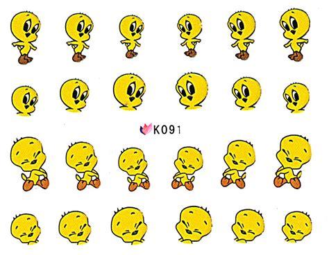 Nail Sticker Mickey nail stickers mickey k091