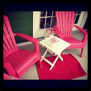 pinks patio pinkhoneybeee girly pink patio furniture