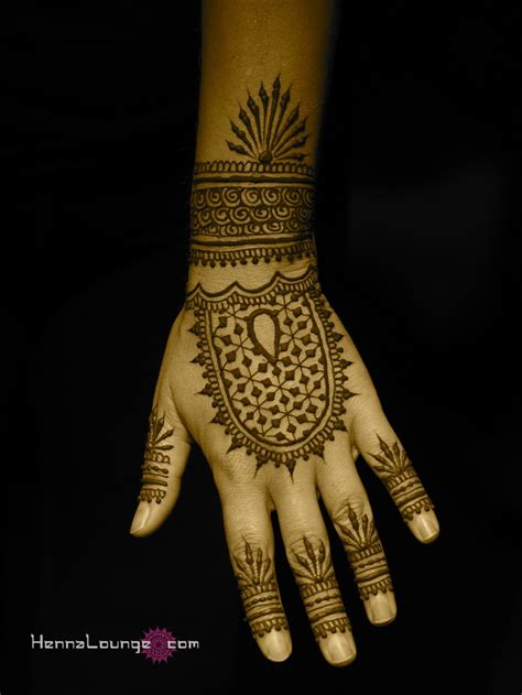 geometric tattoo elements fusion henna pattern with geometric elements by www